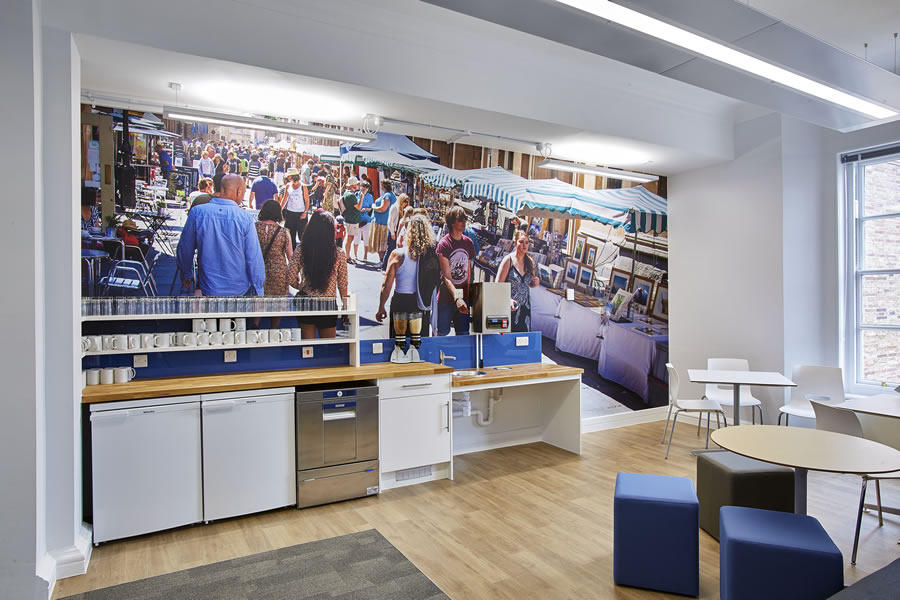 Overbury – Bristol Office Fit Out