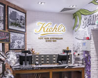 Kiehl's, Retail Display Fixtures, Marble Top, Cash Desk, Bespoke Shopfittings